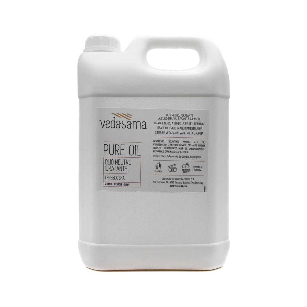 Olio Neutro Threedosha 5 litri